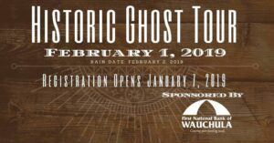 Historic Ghost Tour @ Historic City Hall